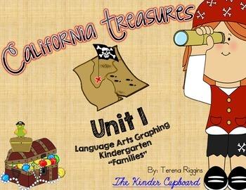 Kindergarten Treasures Unit 1 - Graphing {Families}