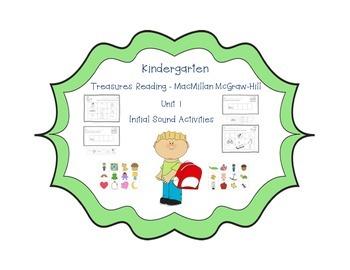 Kindergarten Treasures Unit 1 Initial Sound Sort