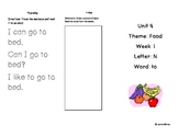 Kindergarten Treasures Unit 4