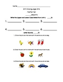 Kindergarten Treasures Unit 6 Pre/Post Assessment