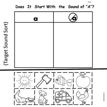 "Kindergarten ""Treasures""  Unit 1-Week 2:  Sight Word-the  Phonics-a"