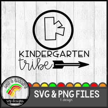 Kindergarten Tribe SVG Design