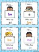 Kindergarten Trick Words I have...Who has? Game