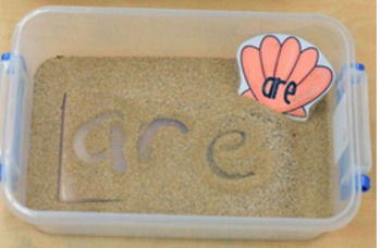 K & 1 Tricky Word Seashell Read and Write
