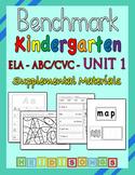 Benchmark Advance Kindergarten Unit 1 - Supplemental Materials