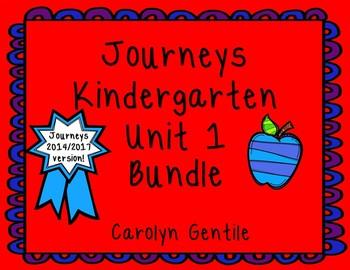 Kindergarten Unit 1 Bundle 2014 Version