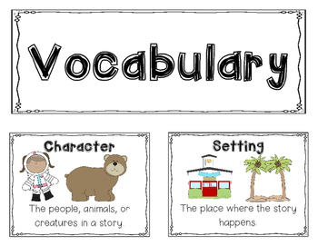 Kindergarten Unit 1: Narrative Stories Learning Map
