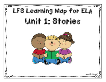 Kindergarten Unit 1: Narrative Stories Learning Map