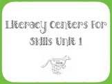 Kindergarten September Literacy Center Ideas