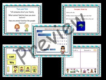 Kindergarten Unit 1 Treasures Reading Program SMART Notebook Files