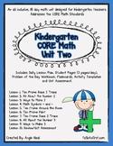 Kindergarten Unit 2 Core Math