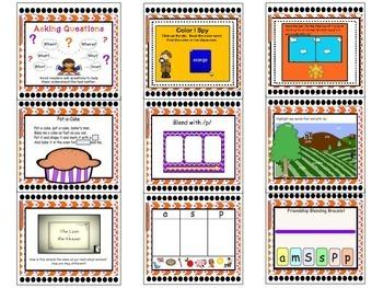 Kindergarten Unit 2 Treasures Reading Program SMART Notebook Files