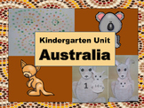 Around the World: Kindergarten Unit: Australia