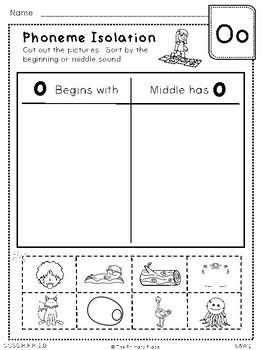 Kindergarten Unit 5 Treasures Reading Printables