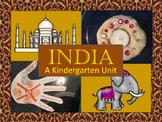 Kindergarten Unit: India