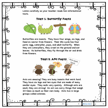 Similarities and Differences Unit Plan for Kindergarten {BUNDLED}