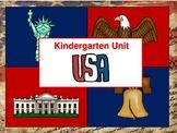 Kindergarten Unit: The USA (The United States)