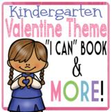 Kindergarten Valentine Book Printable for Kindness Unit Pr