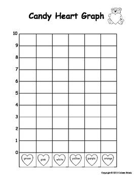 kindergarten valentine candy heart graph by kindergarten kreative. Black Bedroom Furniture Sets. Home Design Ideas
