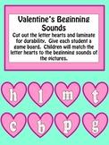 Kindergarten Valentine Literacy Center Activities Initial