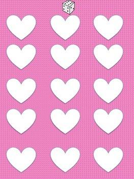 Kindergarten Valentine- Math, Sight-word Bingo