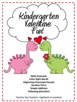 Kindergarten Valentine Pack