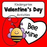 NO PREP Kindergarten Valentine Activities