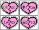 Kindergarten Valentine's Day Literacy Center - CVC Word Puzzles
