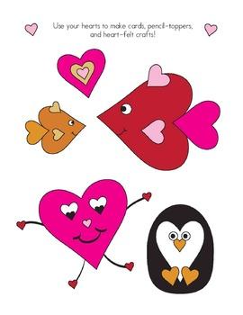 Valentine's Day Kindergarten & 1st Grade BUNDLE: 130 Pages, 10 mp3 Songs