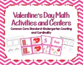 Kindergarten Valentine's Day Math Center