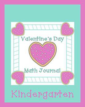 Kindergarten Valentine's Day Math Journal