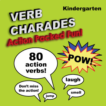 Kindergarten: Verb Charades