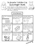 Kindergarten Visitation Day Scavenger Hunt