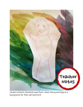 Kindergarten Visual Arts - Lesson 1 Mixing Colours