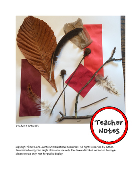 Kindergarten Visual Arts - Lesson 4 Texture Collage