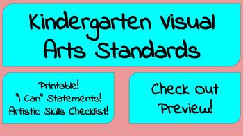 Kindergarten Visual Arts Standards