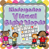 Kindergarten Visual Sight Words Activity - Autism, ELL, or
