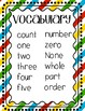 Kindergarten Vocabulary Cards - Envision 2.0
