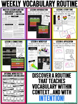 Kindergarten Vocabulary Curriculum Set 2