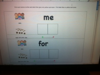 Kindergarten Vol 3 High Frequency Word and Letter Activites Based on Storytown