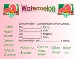 Kindergarten Watermelon Fun