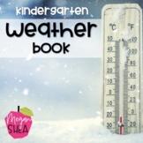 Kindergarten Weather Book
