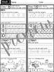Kindergarten Weekly Homework {quarter one D'NEALIAN PRINT}