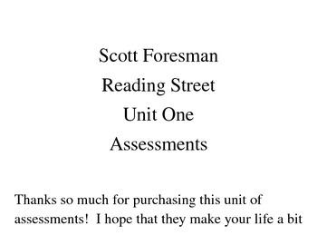 Kindergarten Weekly Reading Assessments