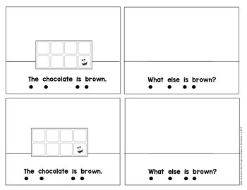 Kindergarten {What is Brown?} Early Emergent Reader for Reading Workshop