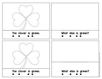 Kindergarten {What is Green?} Early Emergent Reader for Reading Workshop
