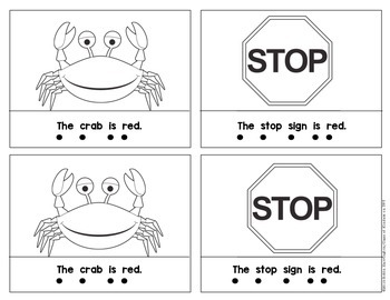 Kindergarten {What is Red?} Early Emergent Reader for Reading Workshop