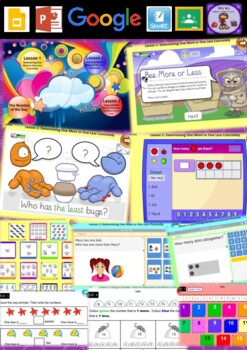 Kindergarten Whole Number Smart Notebook and Unit of Work