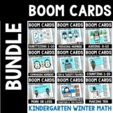 Kindergarten Winter Boom Cards Bundle- Distance Learning M