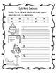 Kindergarten Christmas Break Packet